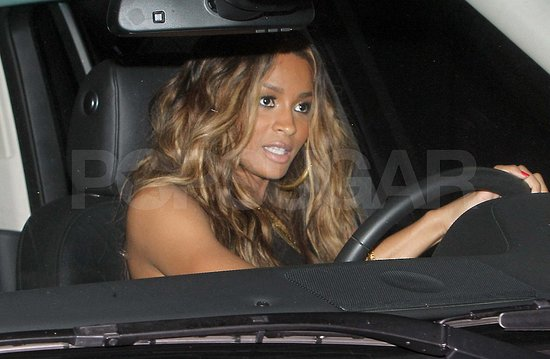 Ciara leaves Kim's wedding.