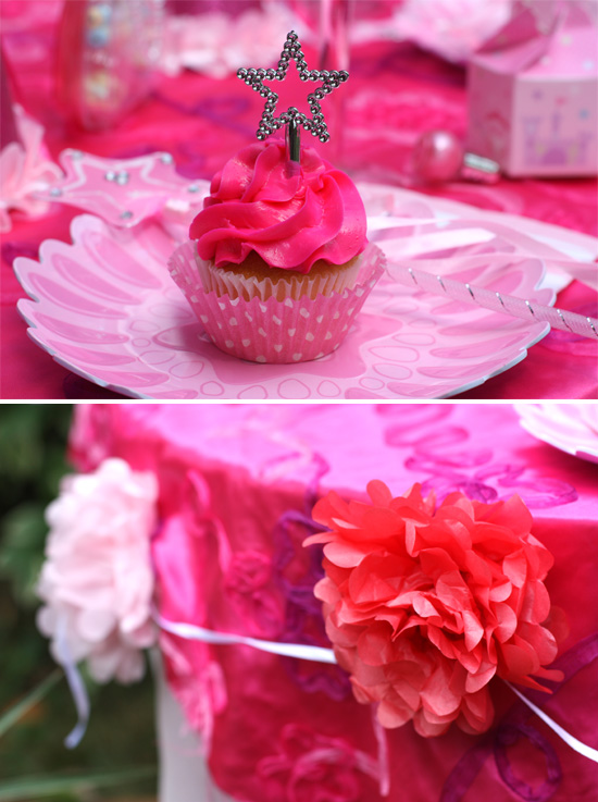 Pink Princess Party Decor