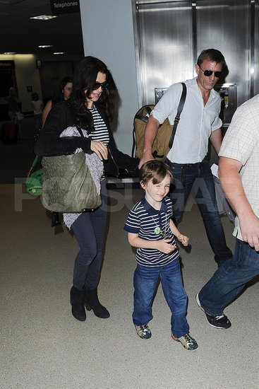 Rachel Weisz and Daniel Craig Travel as a Family With Her Son Henry