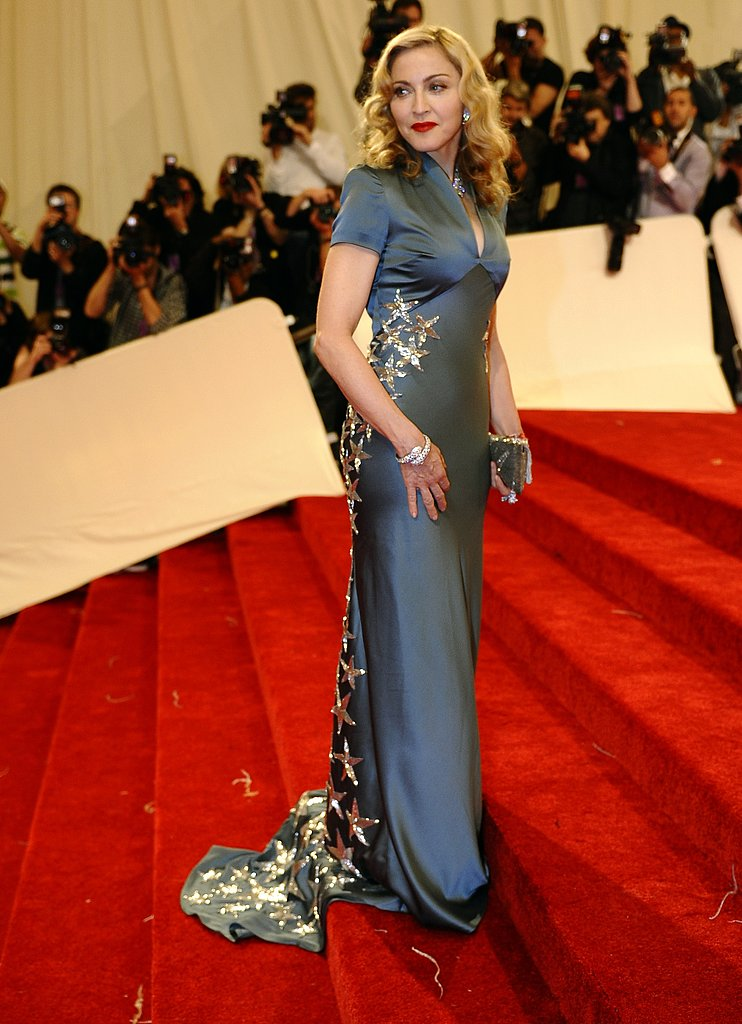 Looking gorgeous at the Met Ball in 2011.