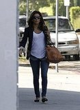 Eva Longoria out in LA.