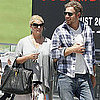 Jessica Simpson and Eric Johnson Pictures at Lunch in LA