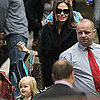Brad Pitt and Angelina Jolie Pictures Boarding a Train to Glasgow