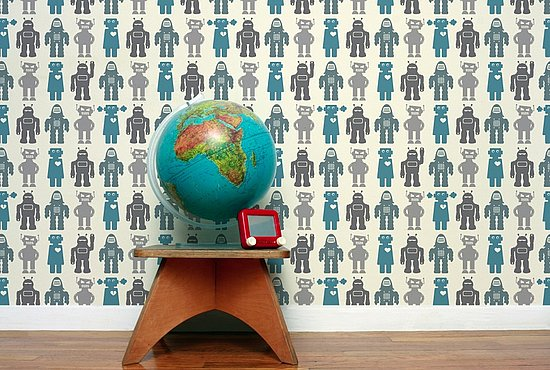 Robots Wallpaper by Aimee Wilder ($165)