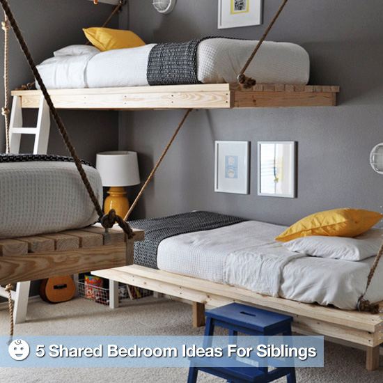 Shared Spaces: 5 Ideas For Siblings Sharing a Bedroom