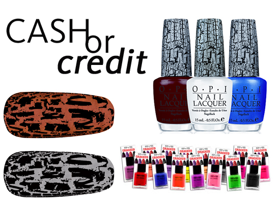 Cash or Credit: Snap, Crackle & Pop With Shatter Nail Polish