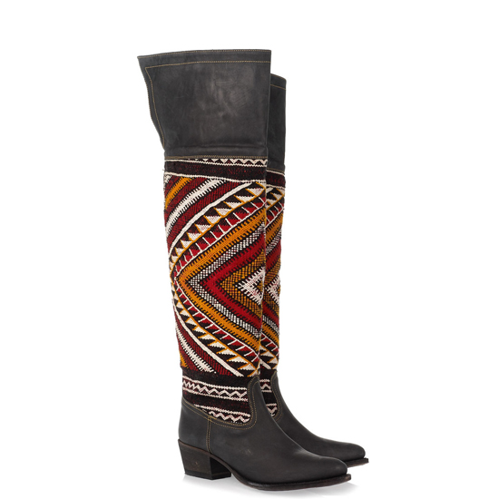 Cobra Society Handwover Wool Boots, $1,195