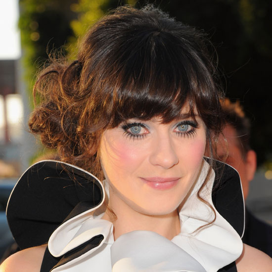 Zooey Deschanel's Doll Eyelashes