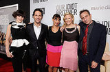 Zooey Deschanel, Paul Rudd, Rashida Jones, Elizabeth Banks, and Jesse Peretz