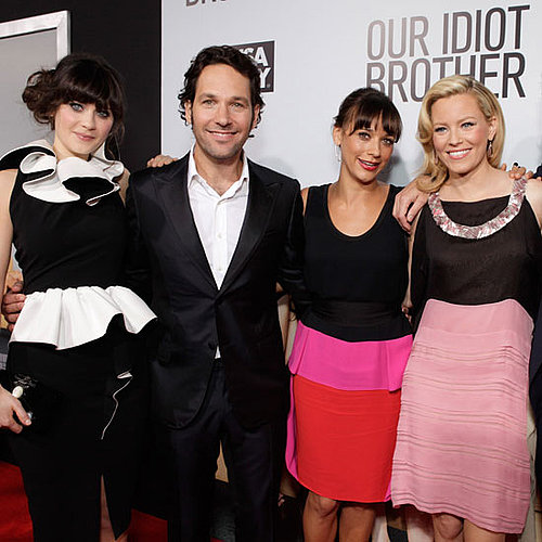Paul Rudd, Rashida Jones at LA Premiere of Our Idiot Brother