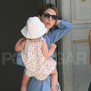 Sofia Coppola Pictures With Daughter Before Wedding