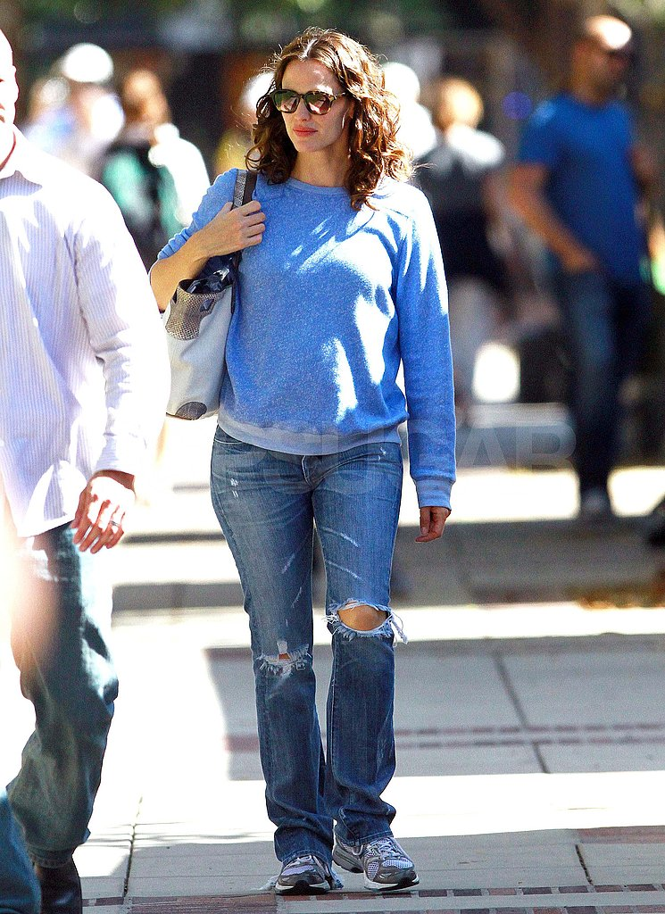 Casual Jennifer Garner.