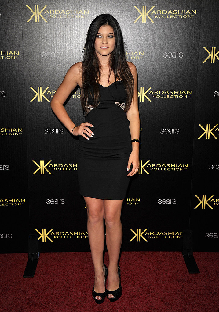 Kylie Jenner at the Kardashian Kollection launch.