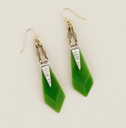 Lulu Frost for J.Crew Resin and Crystal Appliqué Earrings ($65)