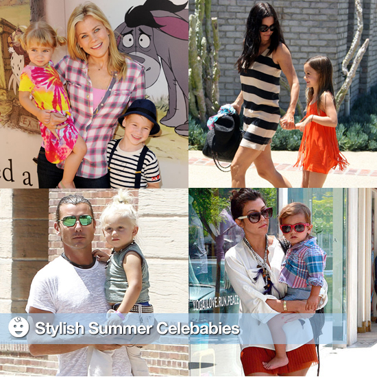 The Summer's Most Stylish Celebrity Tots