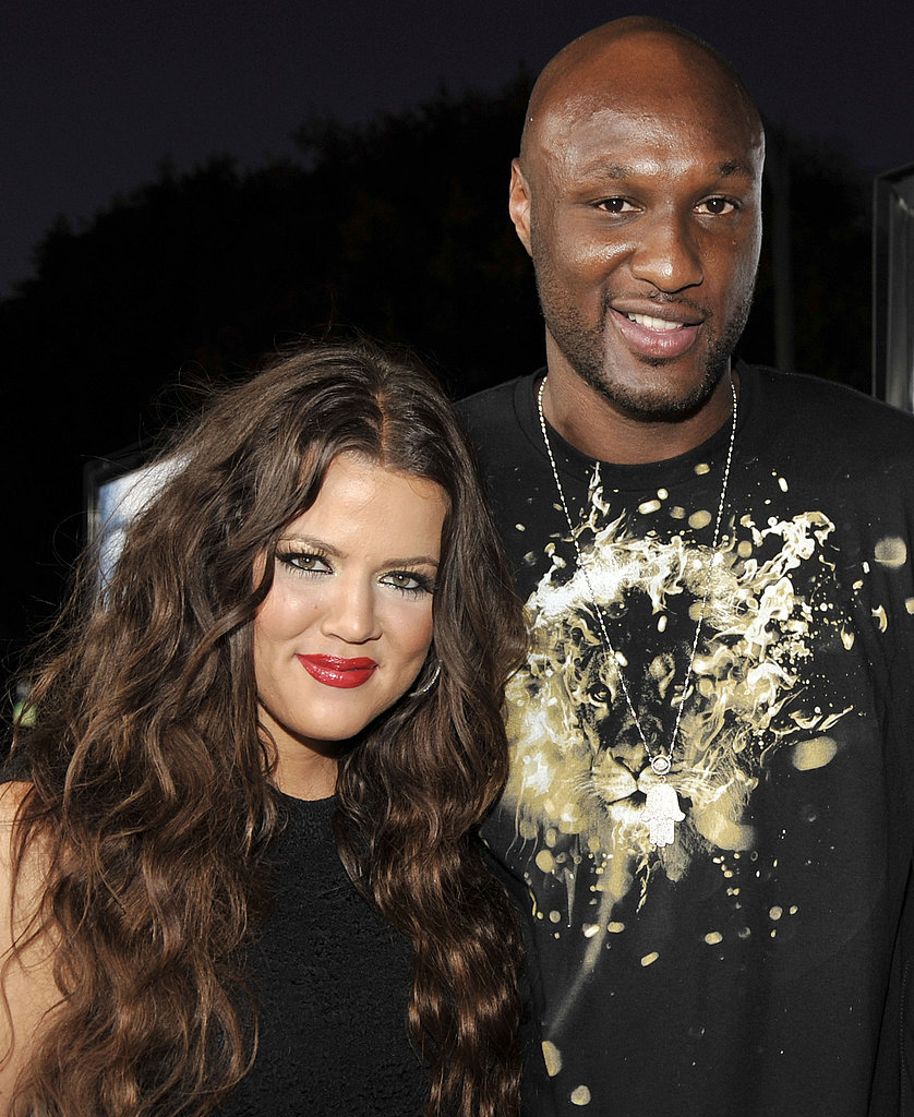 Khloé and Lamar