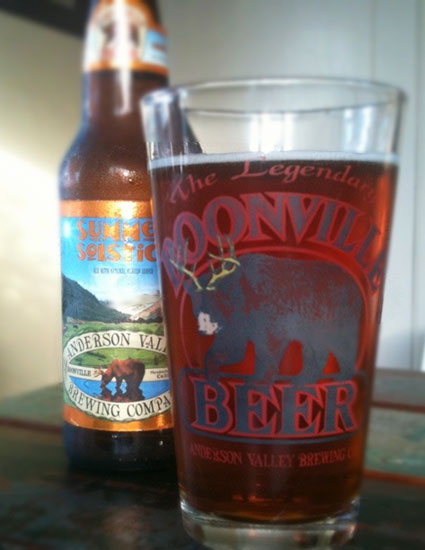 Anderson Valley Brewing Co. Summer Solstice