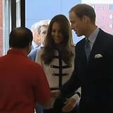 Kate Middleton, Prince William Meet Riot Victims' Families (Video)