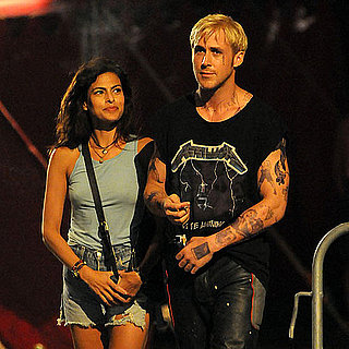 Ryan Gosling, Eva Mendes Filming The Place Beyond the Pines