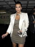 Kim Kardashian looked calm one day ahead of her wedding to Kris Humphries.