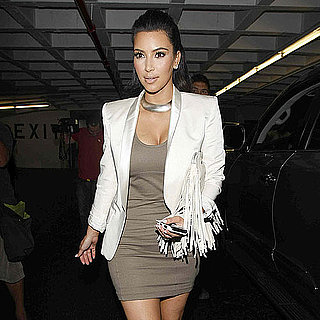 Pictures of Kim Kardashian's Nail Salon Visit Before Wedding