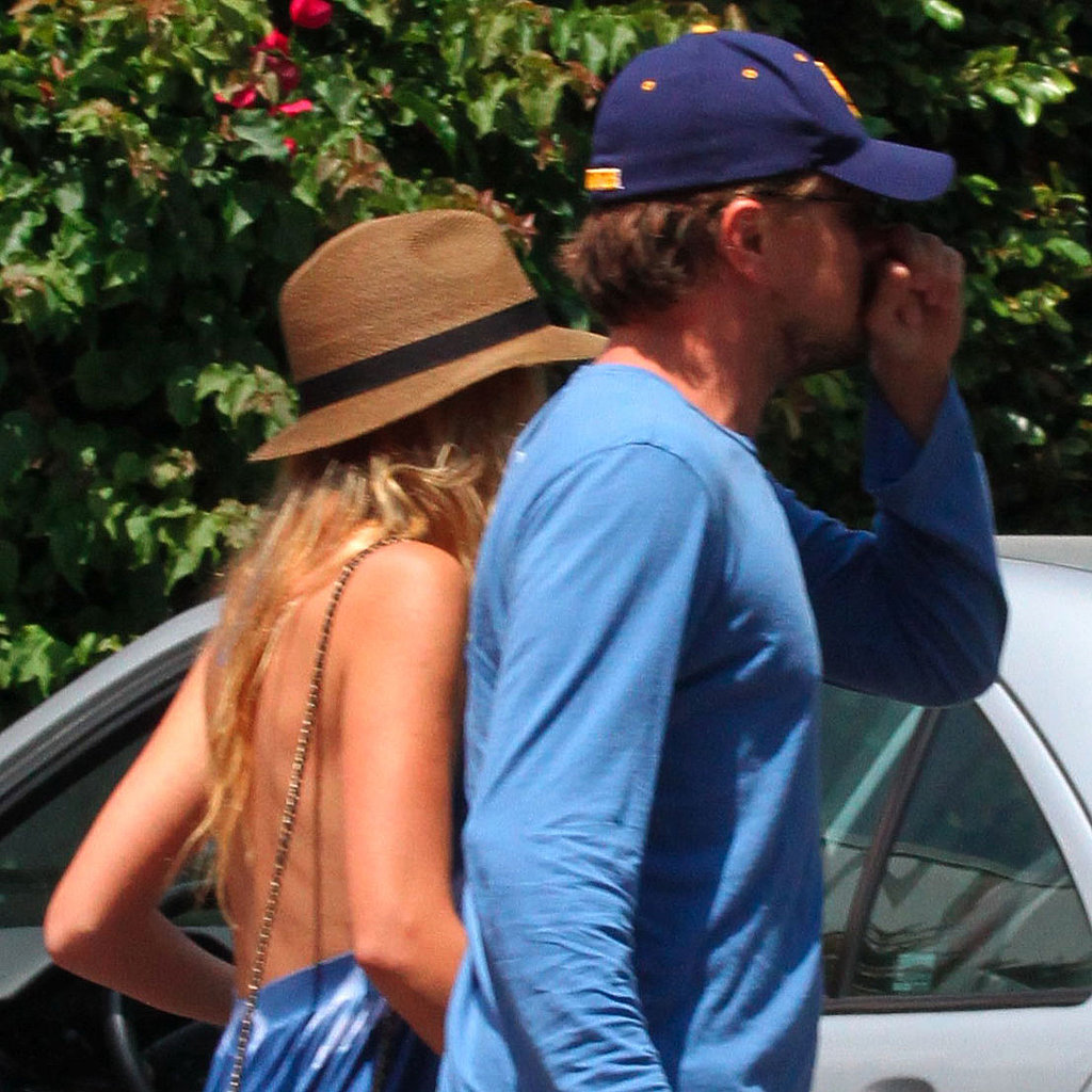 Blake Lively and Leonardo DiCaprio in LA.