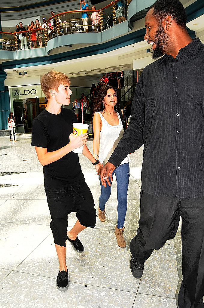 Justin Bieber and Selena Gomez Hold Hands Ahead of Kim Kardashian's Wedding