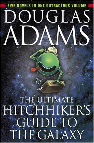 The Hitchhiker&#039;s Guide to the Galaxy — Kindle Edition ($8)