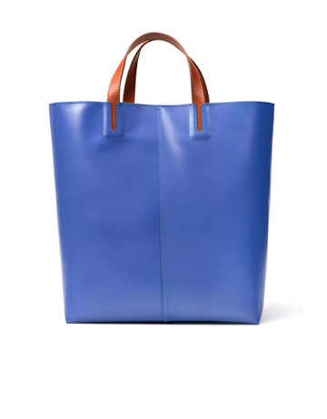 Zara Plain Basket Leather Shopper ($109)