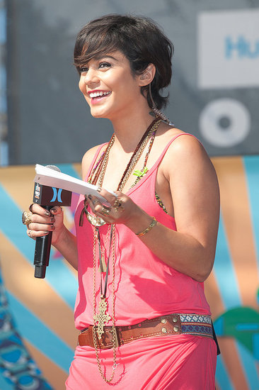Vanessa Hudgens: Shaggy Crop
