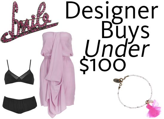 Shopping Steals Under $100: Bargain Designer Buys
