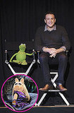 Miss Piggy Makes a Fashionably Late Arrival to Her D23 Panel With Kermit and Jason Segel