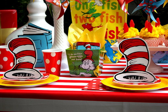 Dr. Seuss Party Props