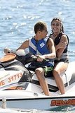 Madonna Hits the Water With Boyfriend Brahim and Bikini-Clad Lourdes!