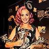 Katy Perry On Russell Brand in the VMA Press Room Pictures