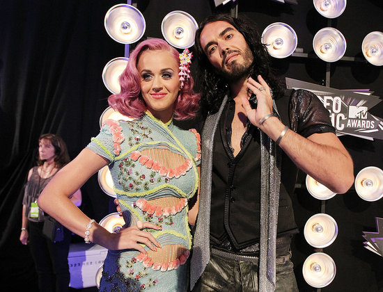 Katy Perry and her husband Russell Brand headed into the show together.