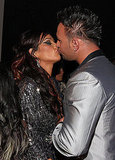 JWoww gets a smooch.