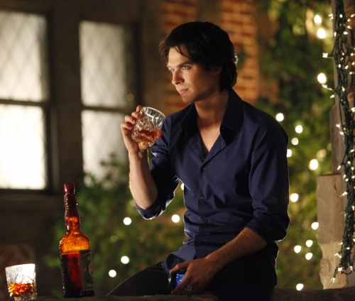 Ian Somerhalder as Damon on The Vampire Diaries.  Photo courtesy of The CW