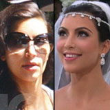 Video of Kim Kardashian's Wedding to Kris Humphries Including Wedding Dress and Guests