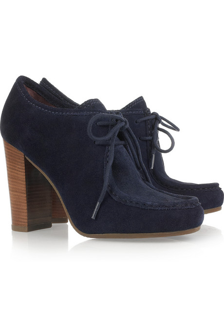 Marc by Marc Jacobs Lace-Up Suede Ankle Boots ($295)
