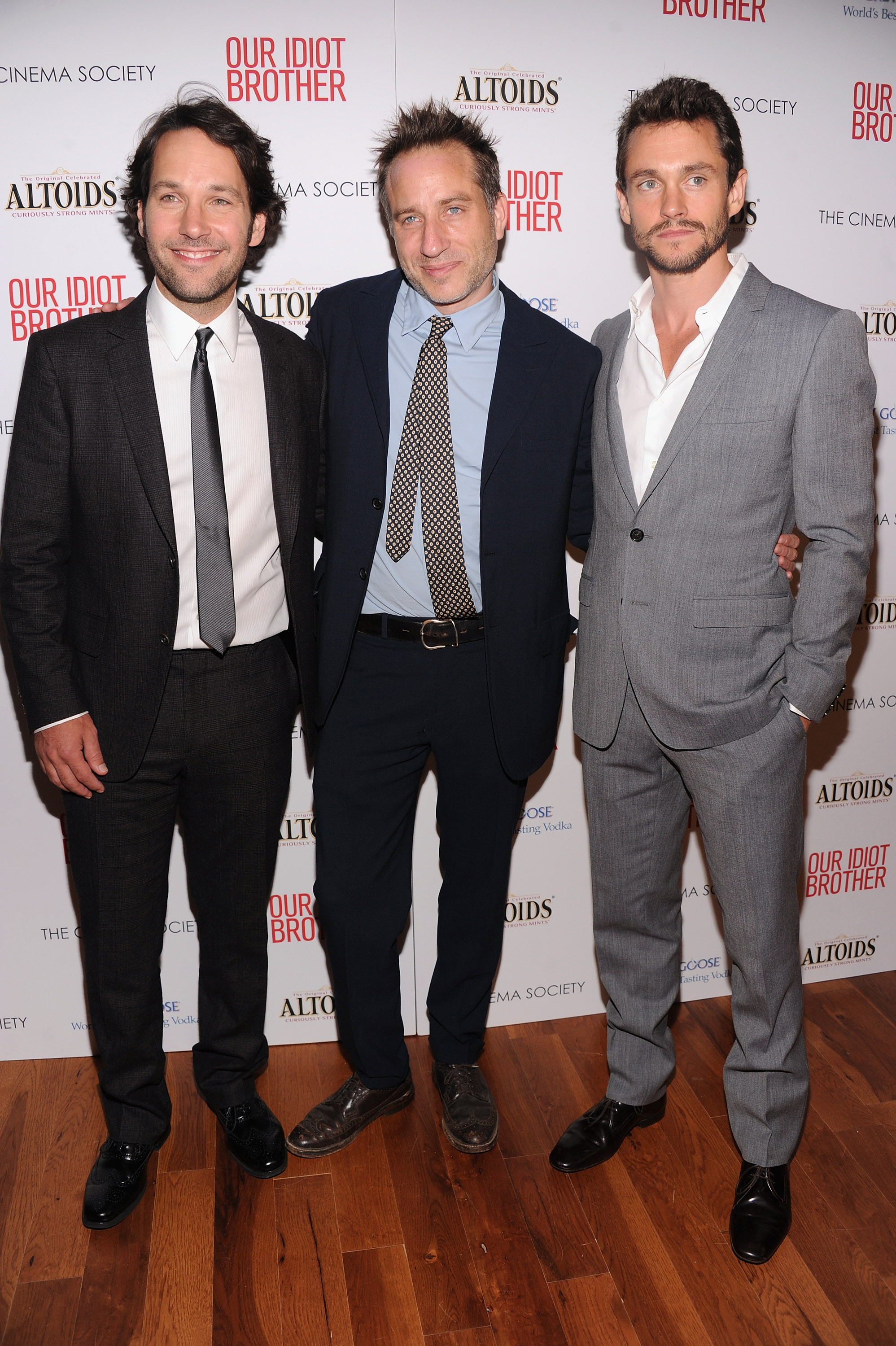 Paul Rudd, Jesse Peretz and Hugh Dancy