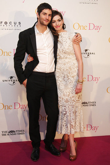 Anne Hathaway Has Jim Sturgess to Lean On at One Day's London Premiere