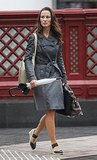 Pippa Middleton Is Ready For Rain or Shine in London