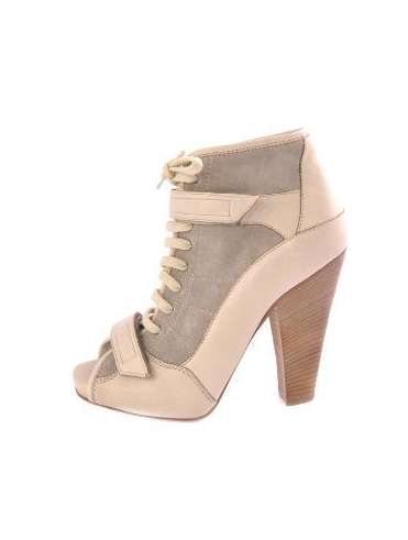 Barbara Bui Open Toe Bootie ($195)