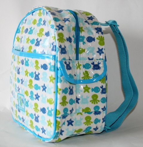 Tuc Tuc Waterproof Blue Sea Kids Travel Backpack ($40)