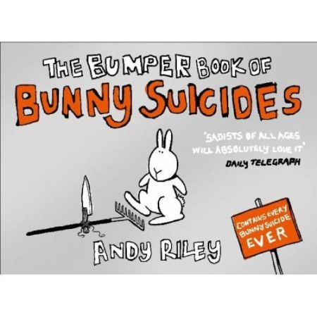 The Bumper Book of Bunny Suicides ($16)