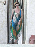 Milla Jovovich unwound at Las Ventanas resort.