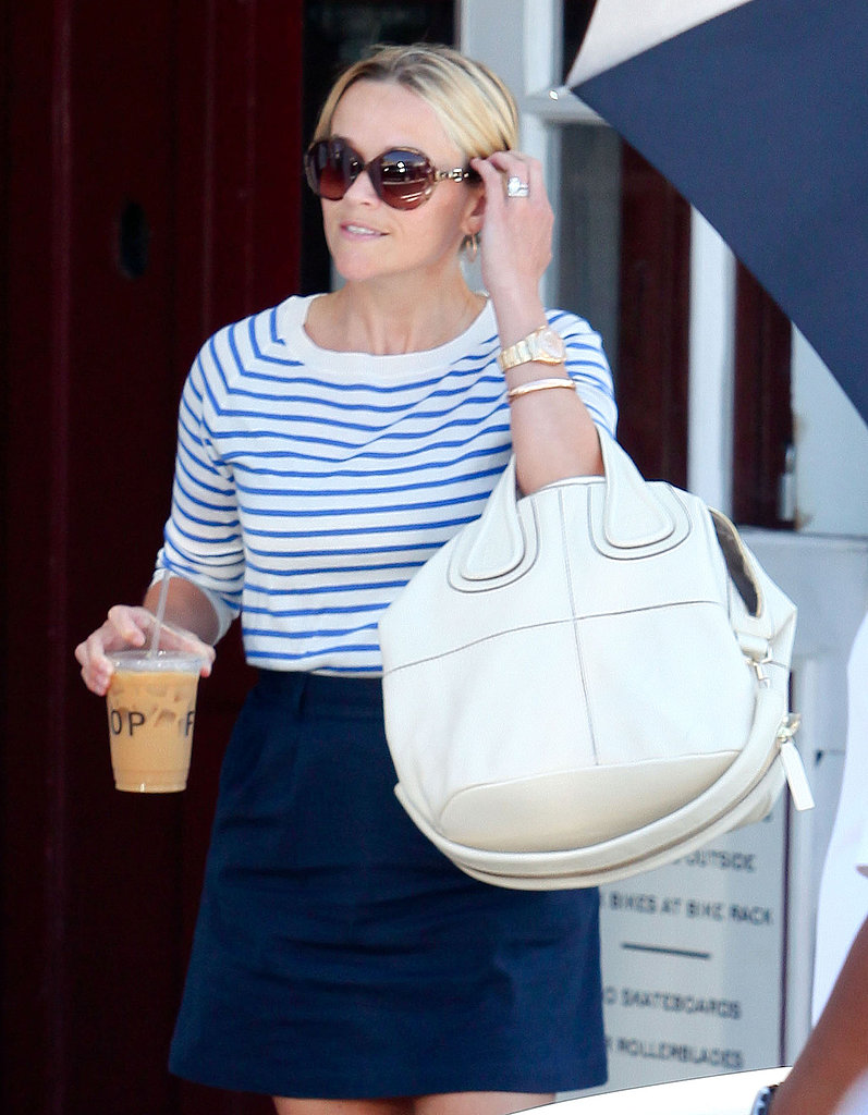 Reese Witherspoon carried Givenchy's Nightingale bag.