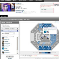 Ticketmaster Connects Seat Maps With Facebook Friends