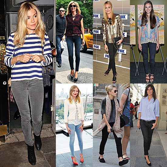 7 Days, 7 Ways: How Celebs Style Up Their Skinny Jeans